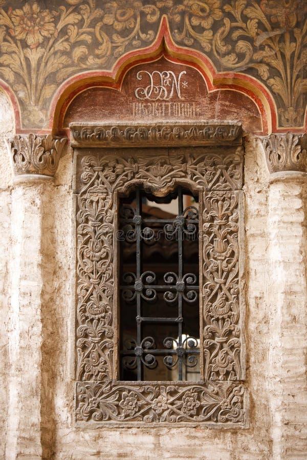 Iglesia de la ventana de Rumania fotografía de archivo