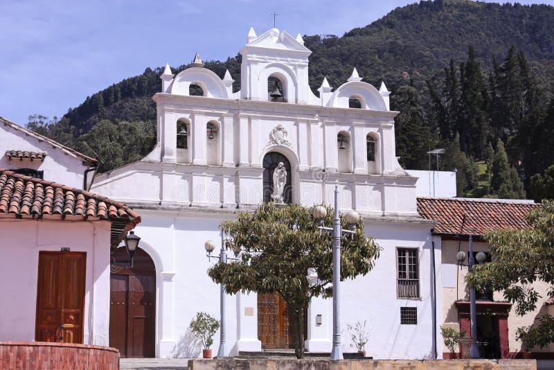 Iglesia de las Água, Bogotá, Colômbia fotografia de stock royalty free