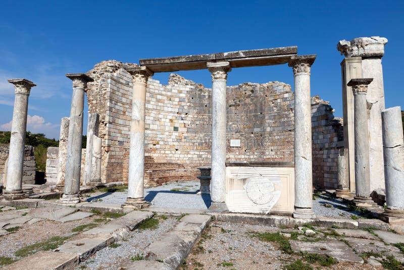 Iglesia de los consejos en Ephesus, imagen de archivo