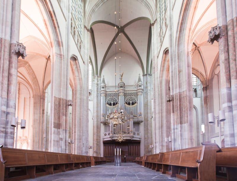 Iglesia de los Dom en Utrecht fotos de archivo libres de regalías