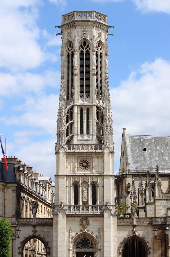Iglesia de los l'Auxerrois de St Germain en París fotos de archivo