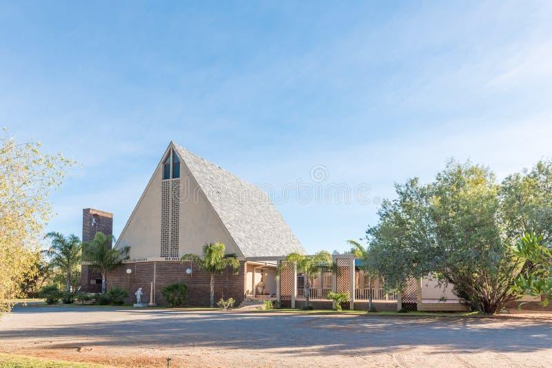 Iglesia de los ministerios de Roepersfontein en Upington fotos de archivo libres de regalías