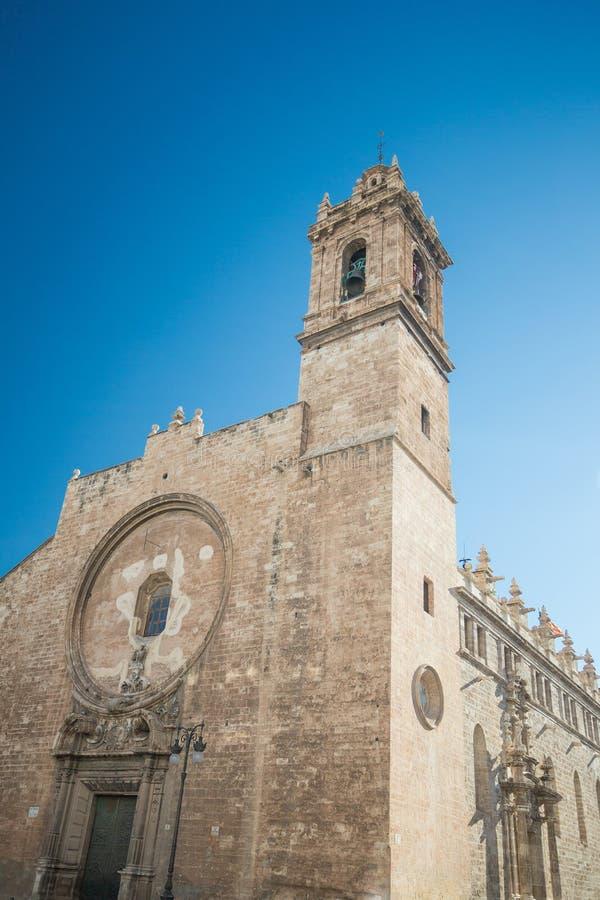 Iglesia De Los Santos Juanes, Valência, Espanha imagens de stock