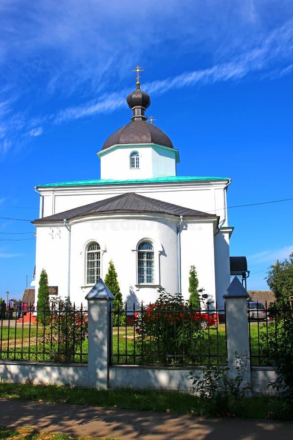 Iglesia de los santos Peter y Paul Church en Minsk foto de archivo libre de regalías