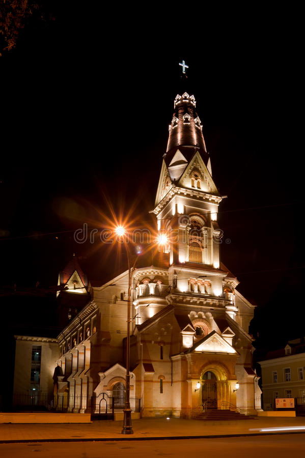 Iglesia De Lutheran. Fotografía de archivo