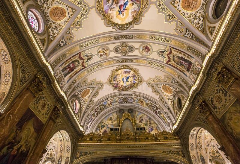 Iglesia de Macarena del La, Sevilla, Andalucía, España foto de archivo