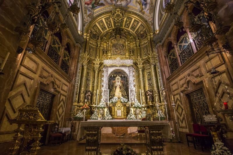 Iglesia de Macarena del La, Sevilla, Andalucía, España fotos de archivo