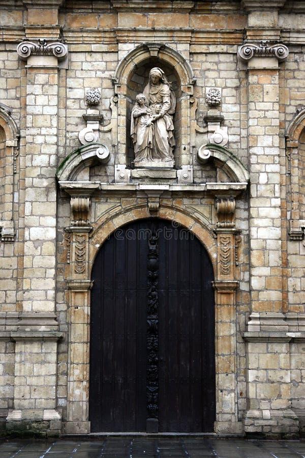 Iglesia de Madeleine en Bruselas. imagen de archivo libre de regalías