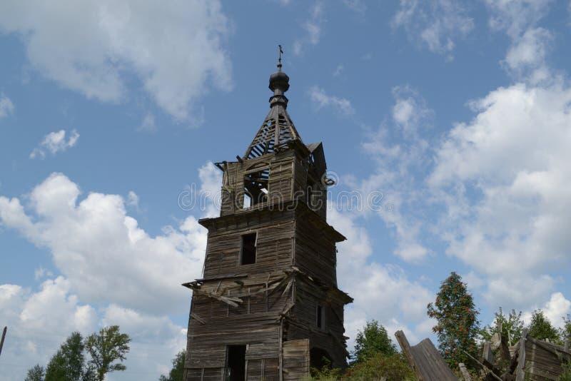 Iglesia de madera fotografía de archivo