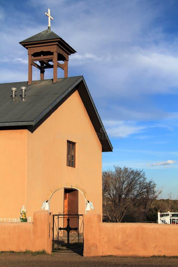 Iglesia de Manzano imagenes de archivo