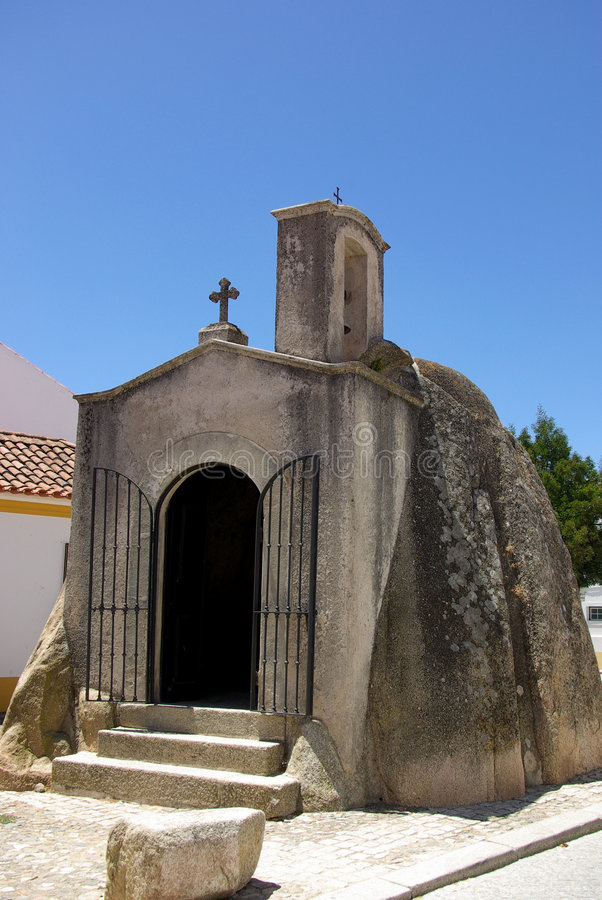Iglesia de megalític fotografía de archivo