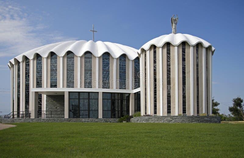 Iglesia de Micheal Catholic del santo foto de archivo libre de regalías