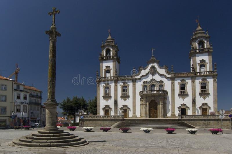 Iglesia de Misericordia, Viseu. imagen de archivo libre de regalías