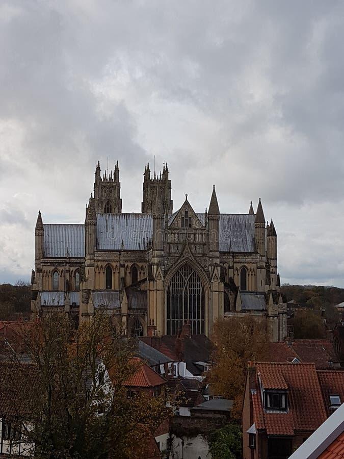 Iglesia de monasterio de Beverley fotos de archivo libres de regalías