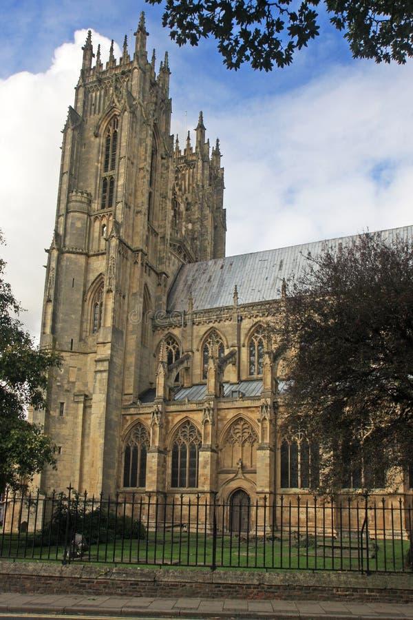 Iglesia de monasterio de Beverley foto de archivo
