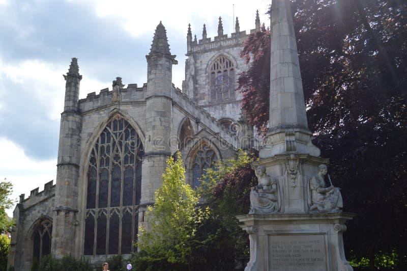 Iglesia de monasterio de Beverley fotografía de archivo