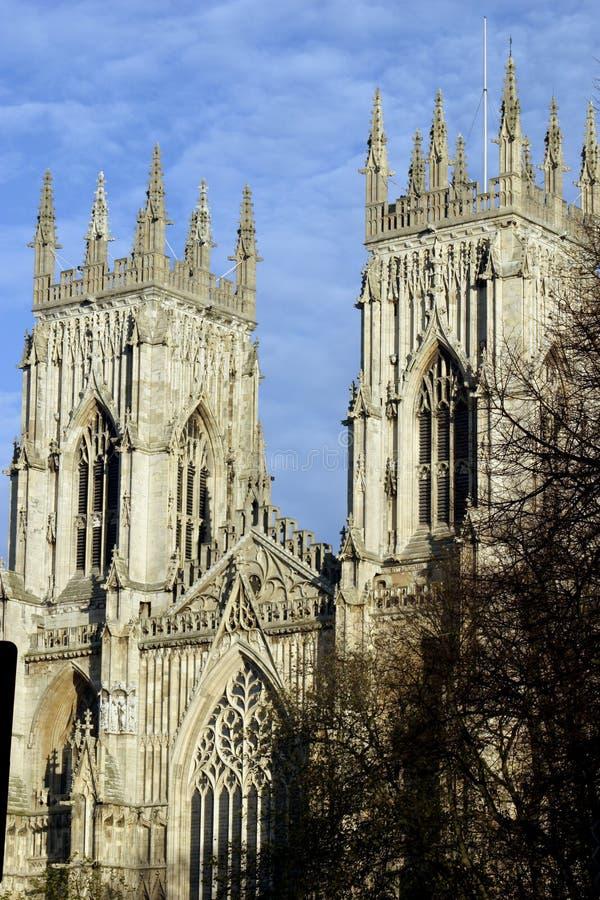 Iglesia de monasterio de York fotografía de archivo