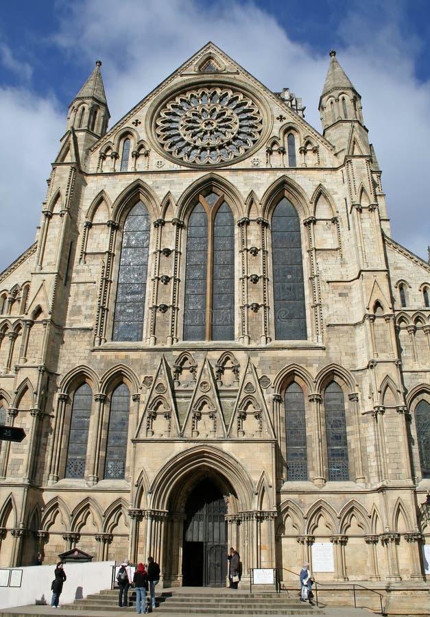 Iglesia de monasterio de York foto de archivo libre de regalías