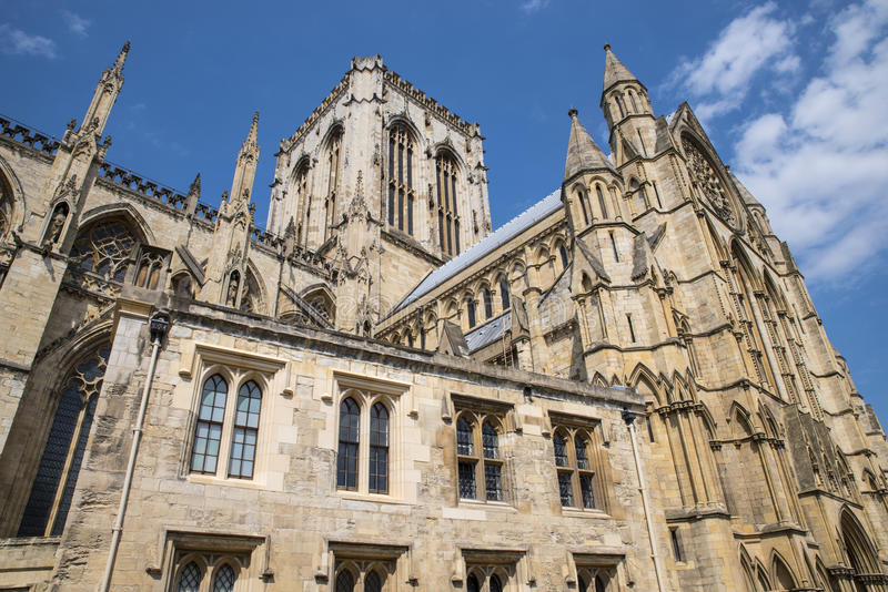 Iglesia de monasterio de York en York fotografía de archivo