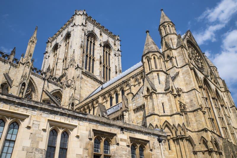 Iglesia de monasterio de York en York fotos de archivo libres de regalías