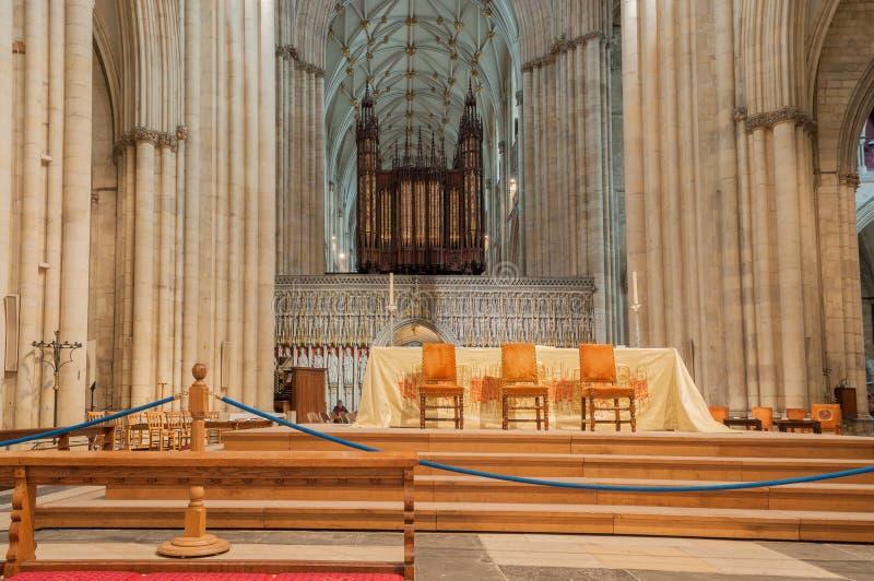 Iglesia de monasterio de York, Inglaterra imágenes de archivo libres de regalías