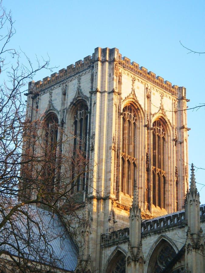 Iglesia de monasterio de York, York, Inglaterra. foto de archivo libre de regalías