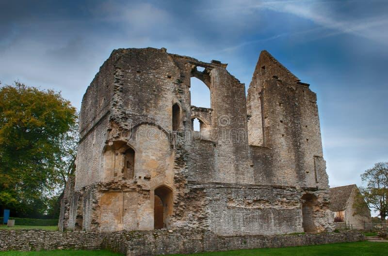 Iglesia de monasterio Lovell Pasillo Oxfordshire, Inglaterra imagen de archivo libre de regalías