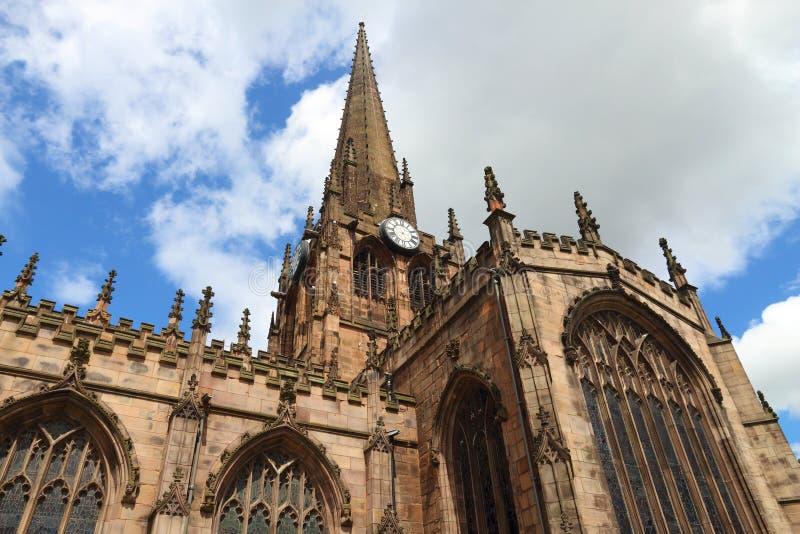 Iglesia de monasterio de Rotherham, Reino Unido fotos de archivo libres de regalías
