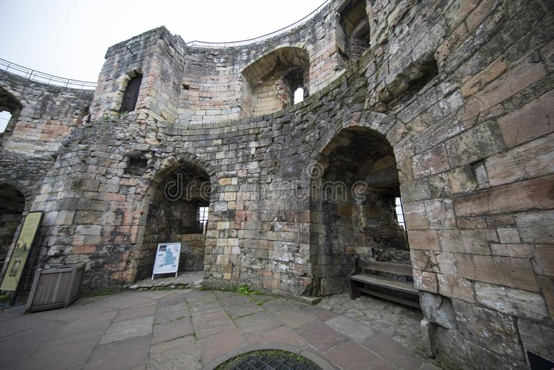 Iglesia de monasterio de York de la torre de Cliffords foto de archivo