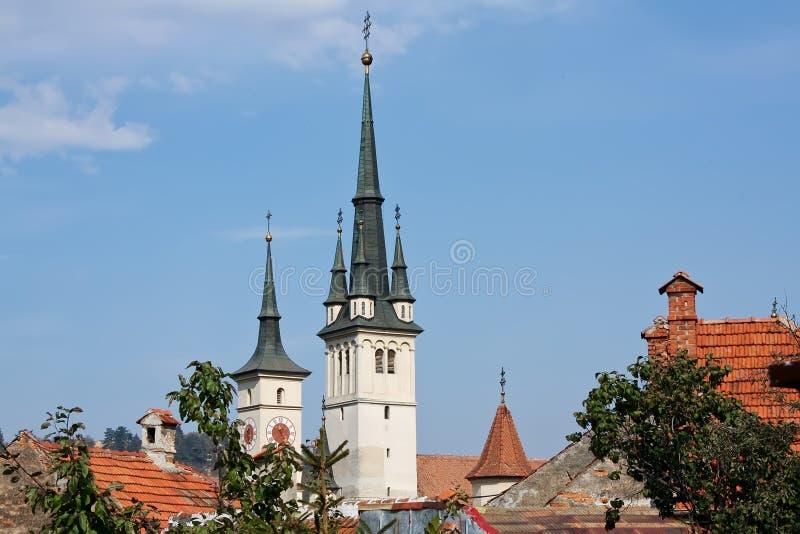 Iglesia de Nicholas del santo imagenes de archivo