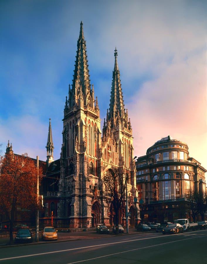 Iglesia de Nicholas, la casa del órgano y música de cámara fotografía de archivo