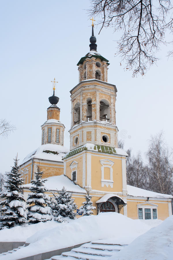 Iglesia de Nikolo-Kremlevskaya en Vladimir imágenes de archivo libres de regalías