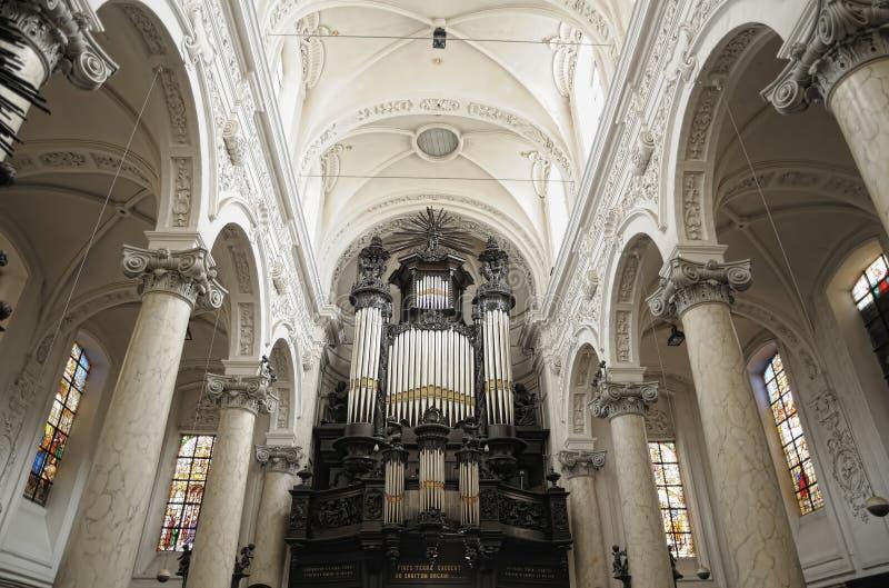 Iglesia de Notre-Dame du Finistere fotos de archivo
