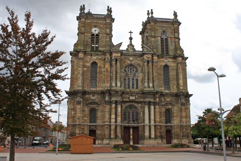 Iglesia de Notre Dame, Vitry le Francois imagen de archivo