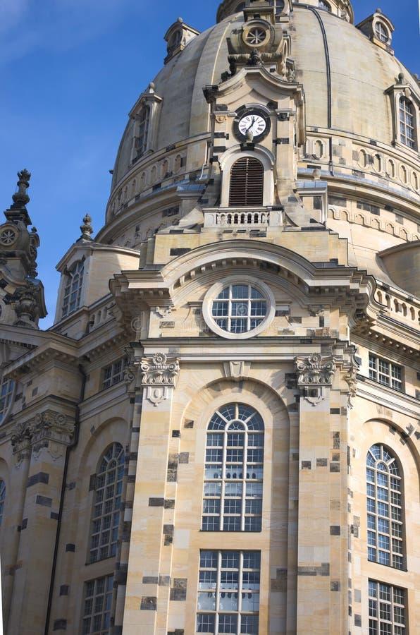 Iglesia de nuestra señora - II - Dresden - Alemania foto de archivo libre de regalías