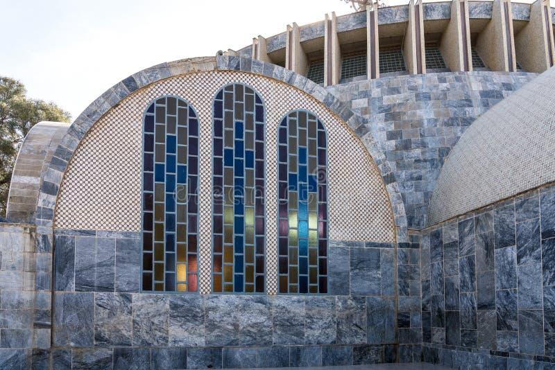 Iglesia de nuestra señora St Mary de Zion Axum, Etiopía imágenes de archivo libres de regalías