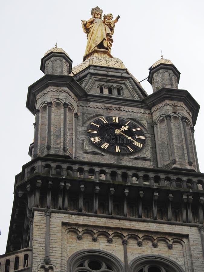 Iglesia de nuestra señora - StNiklaas - Bélgica fotografía de archivo libre de regalías