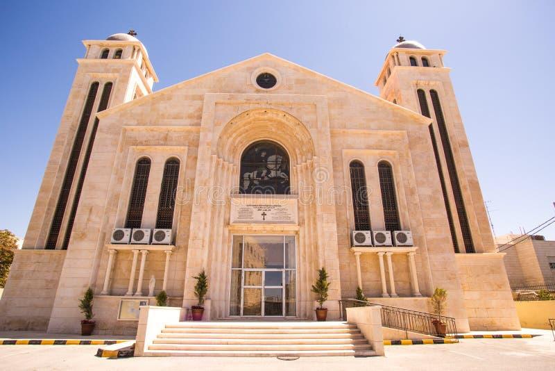 Iglesia de Oriente Medio foto de archivo libre de regalías