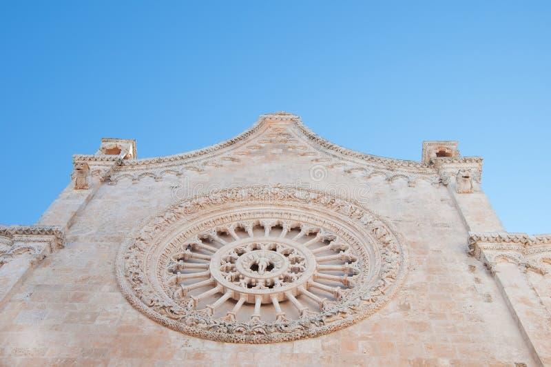 Iglesia de Ostuni fotos de archivo