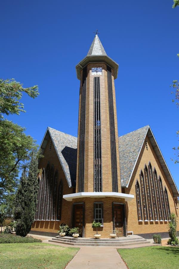 Iglesia de Otjiwarongo imágenes de archivo libres de regalías