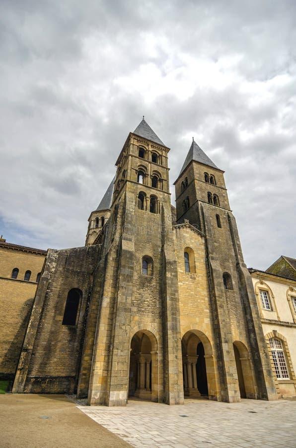 Iglesia de Paray le Monial fotos de archivo