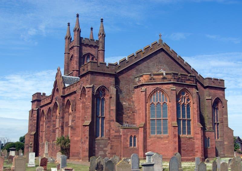 Iglesia de parroquia de Dunbar foto de archivo libre de regalías