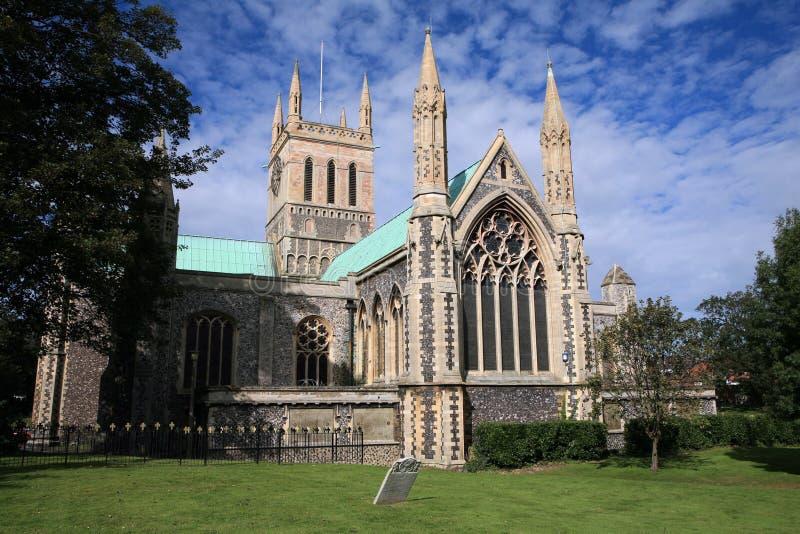Iglesia de parroquia inglesa imagen de archivo