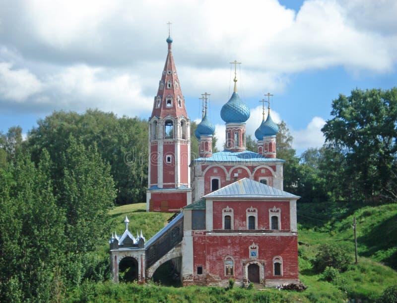 Iglesia en Rusia fotografía de archivo