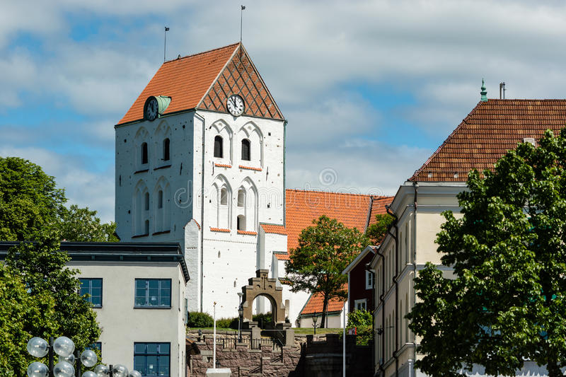 Iglesia de Ronneby imagenes de archivo