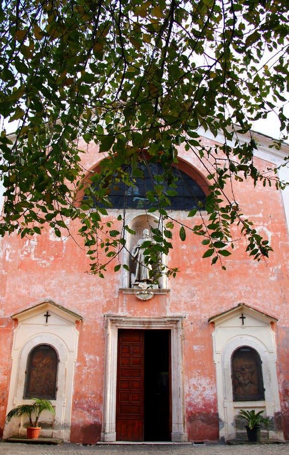 Iglesia de S.Bonaventura en la colina de Palatine fotografía de archivo libre de regalías