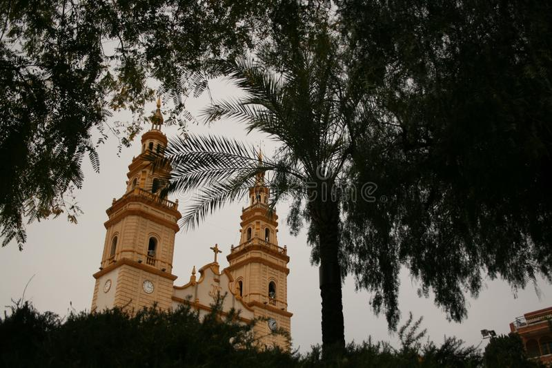 IGLESIA DE S DE CAMPOAMOR ' ALCANTARILLA, ESPAÑA fotos de archivo