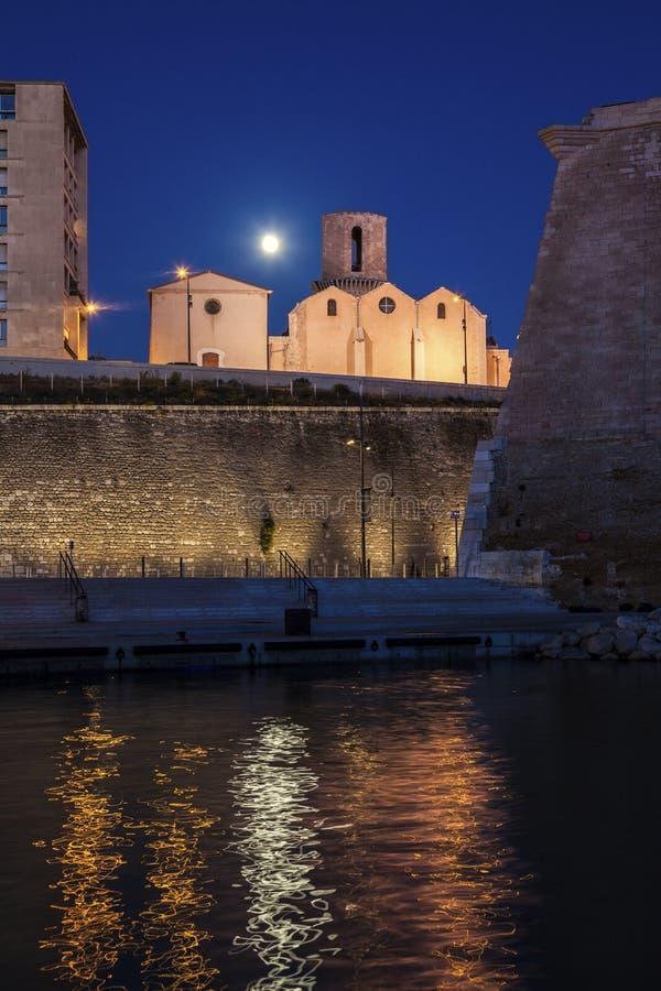 Iglesia de Saint Laurent en Marsella imagenes de archivo