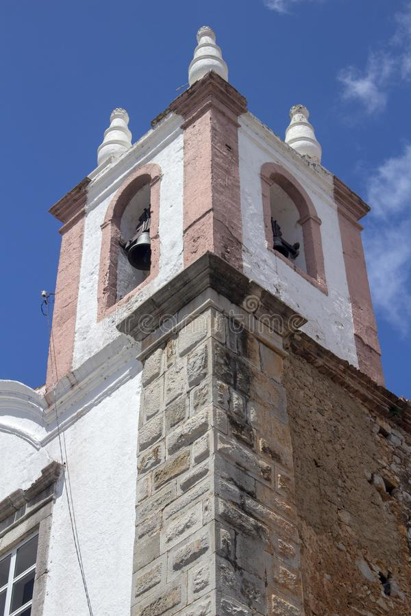Iglesia de Saint Paul, Tavira, Portugal fotos de archivo