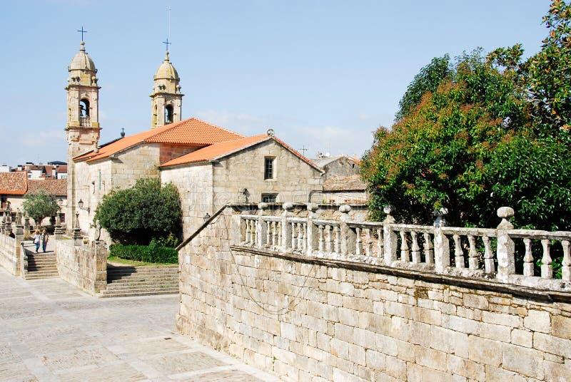 Iglesia de San Benito, Cambados imagen de archivo libre de regalías